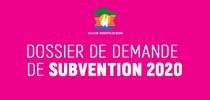 DEMANDE DE SUBVENTION 2020 DES ASSOCIATIONS